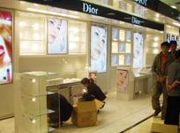 化妆品专柜现场
