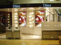 Dior专柜施工现场