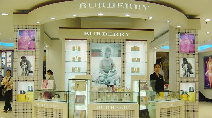 BURBERRY专柜